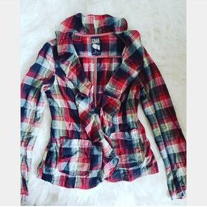 Free people blazer type blouse